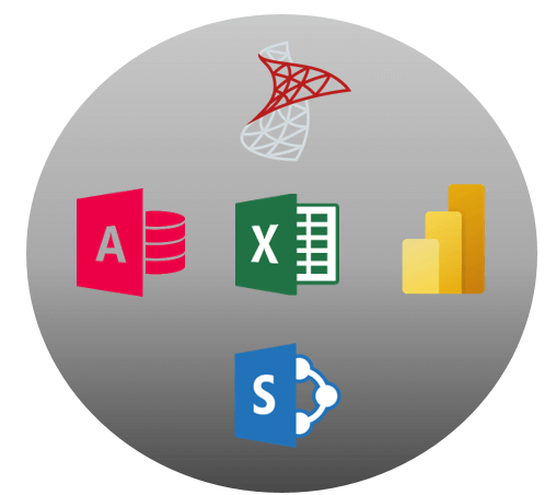 Microsoft Software Technology Icons