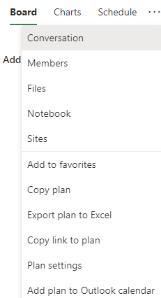 Add Planner to Outlook